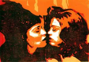 Women in love lesbische Liebe