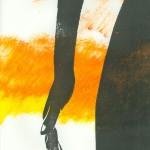 die Hand - orange Version mit Untermalung