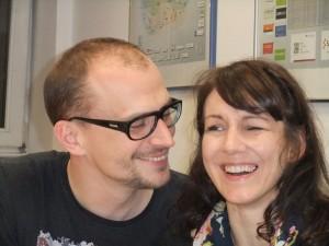 Sebastian Halm und Andrea