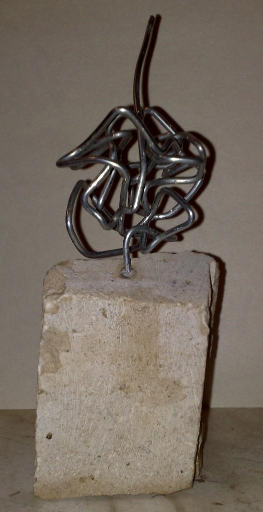 Skulptur Ausweg