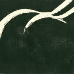 Weibliche Rückansicht - aka: Der Frauenarsch - Holzschnitt297x210
