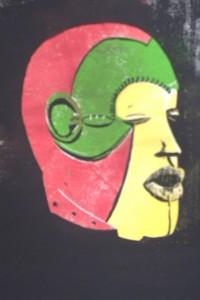 Boki Maske Nigeria/Togo