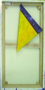 Drei Quadrate und ein Dreieck (Rückansicht)