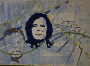 Gerda Morschhauser 1/6 - Linolschnitt