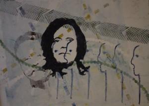 Gerda Morschhauser 2/6 - Linolschnitt