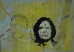 Gerda Morschhauser 4/6 - Linolschnitt