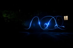 Lichtmalerei mit der Kamera
