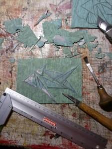 Linoldruck lernen Schritt für Schritt