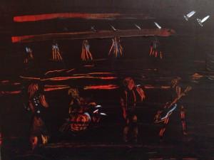 Rockband - Acyl Sgrafitto