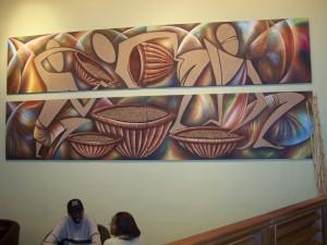 Coffee Art in Kigali