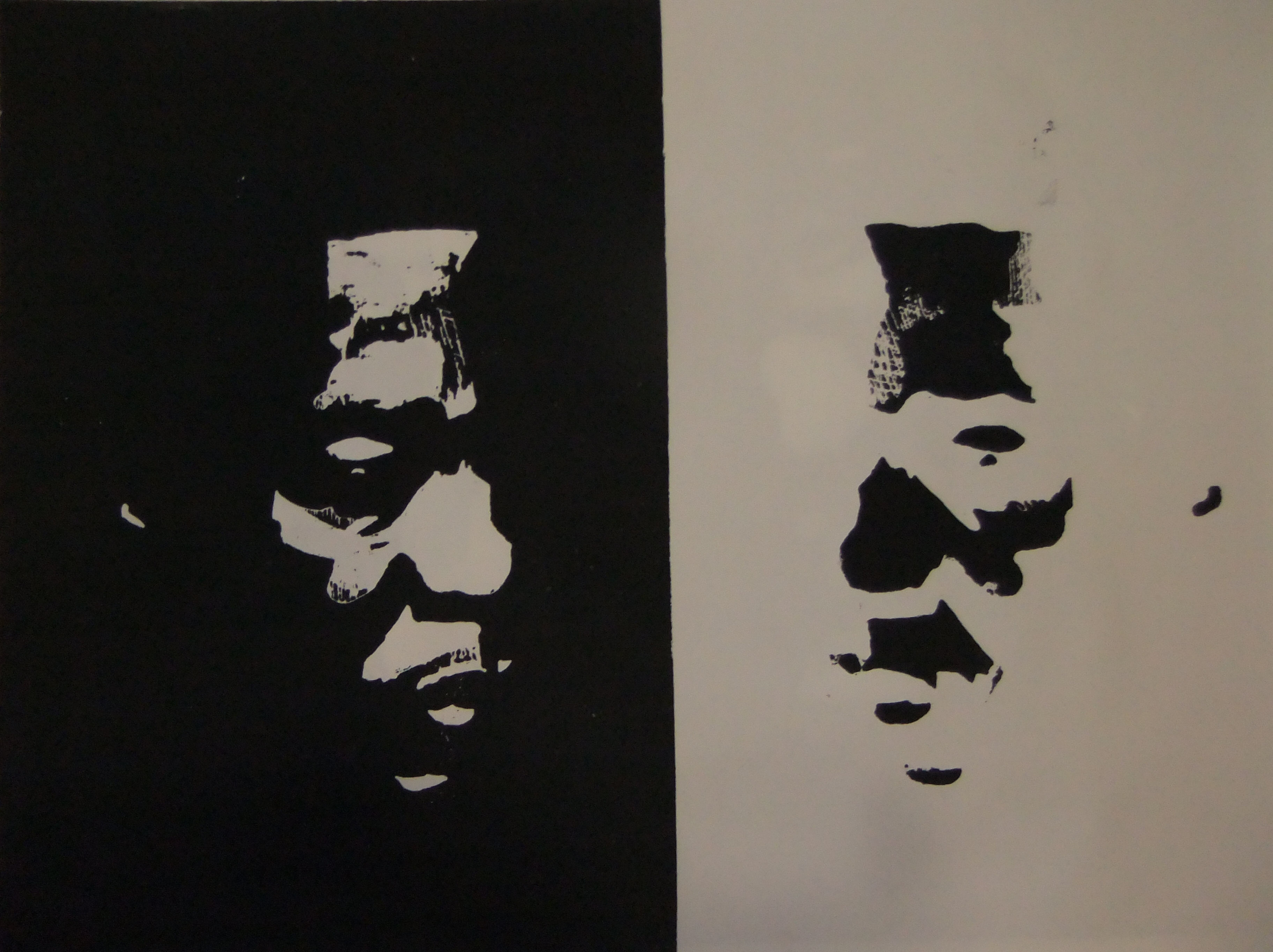 Schwarzweiss - Black man - White man
