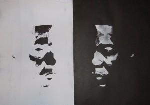 Weissschwarz - Black man - white man