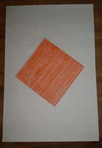 High-Heel-Linolschnitt-Joachim-Graf