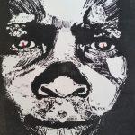 Dein wundervolles Smartphone - Kongo, Coltan und Kinderarbeit - Holzschnitt Joachim Graf