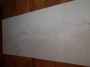 so entsteht ein Holzschnitt - die Vor zeichnung