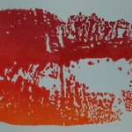 Rote Lippen (Irisdruck)