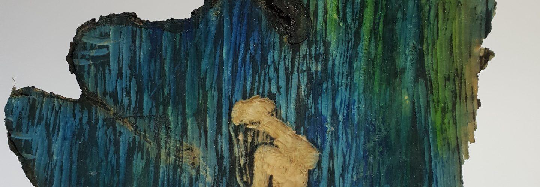 Badende im Wasserfall - Joachim Graf