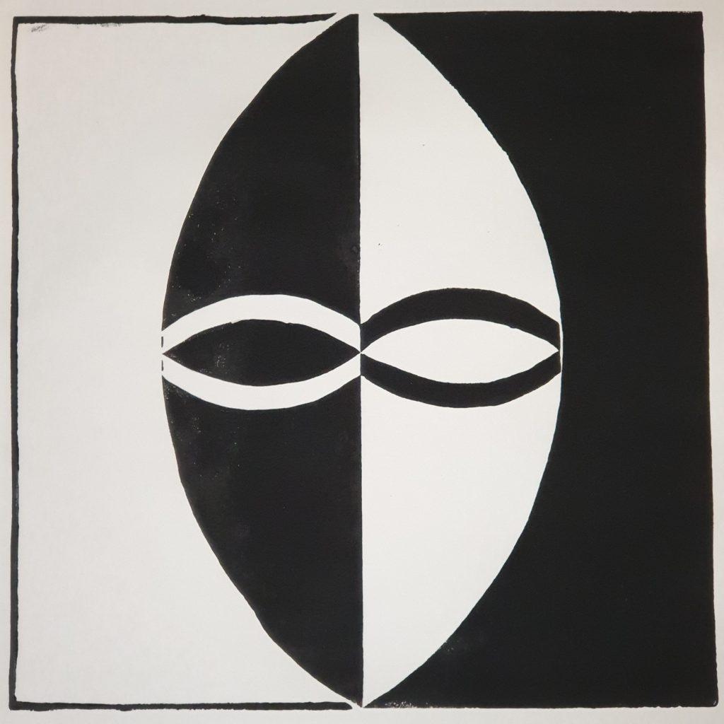 Fremde Gesichter - Holzschnitt Joachim Graf (1)