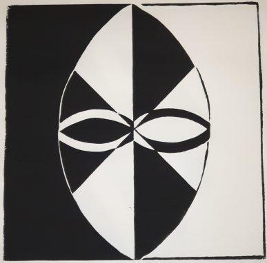 Fremde Gesichter - Holzschnitt Joachim Graf (3)