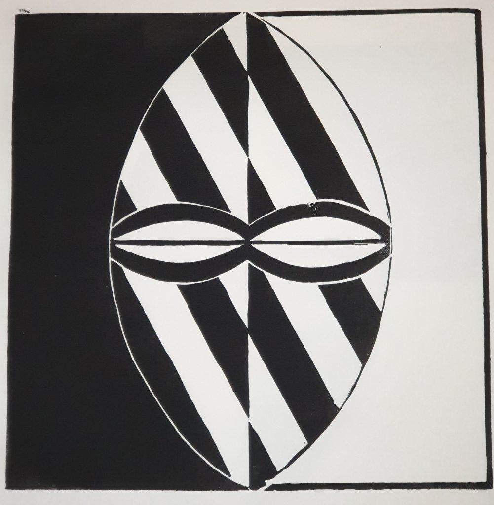 Fremde Gesichter - Holzschnitt Joachim Graf (4)